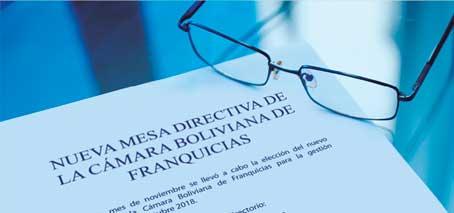 Directorio de la Cámara Boliviana de Franquicias