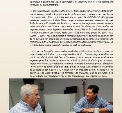 Programa de Desarrollo Motor Para Bolivia (Parte 1)