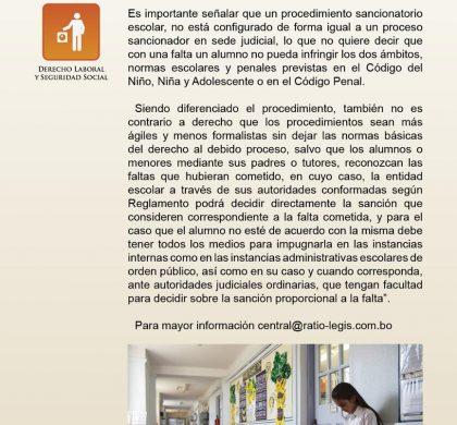 (Español) Expulsión de estudiantes en los colegios y escuelas