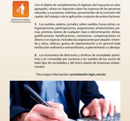 (Español) Tributos de Directores y Síndicos de Sociedades