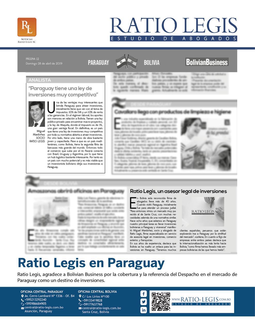 Ratio Legis en Paraguay