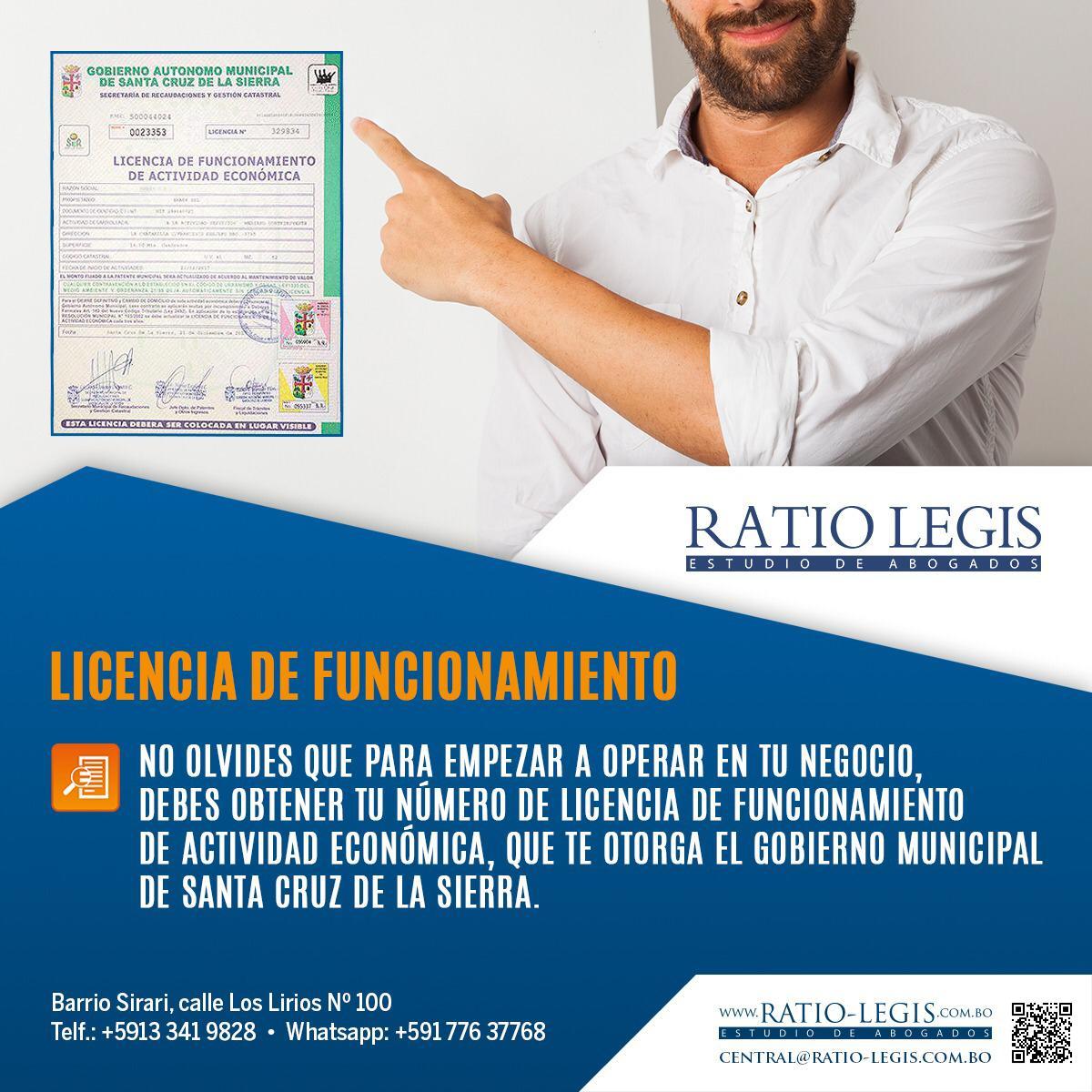 (Español) Licencia de Funcionamiento