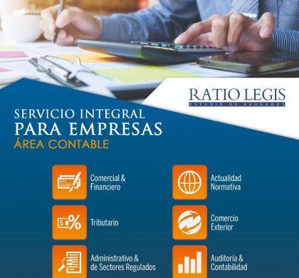 Servicio Integral para Empresas Área Contable