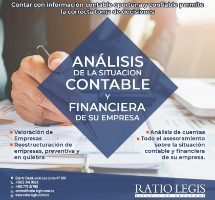 Análisis de la Situación Contable y Financiera de su Empresa