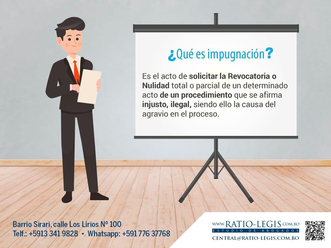(Español) ¿Qué es impugnación?