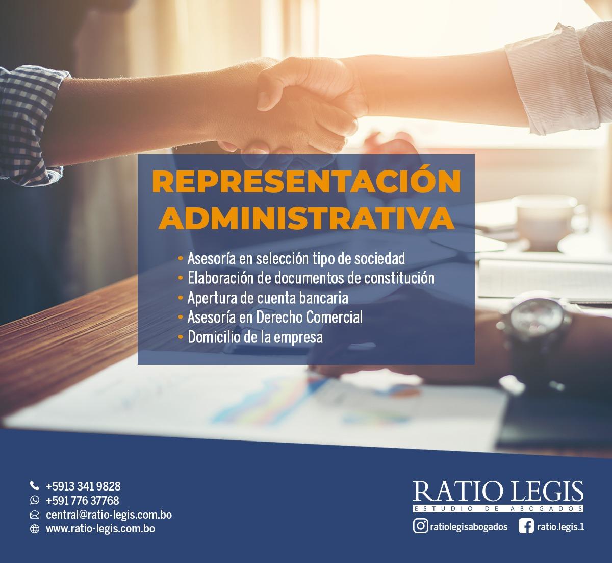 (Español) Representación Administrativa