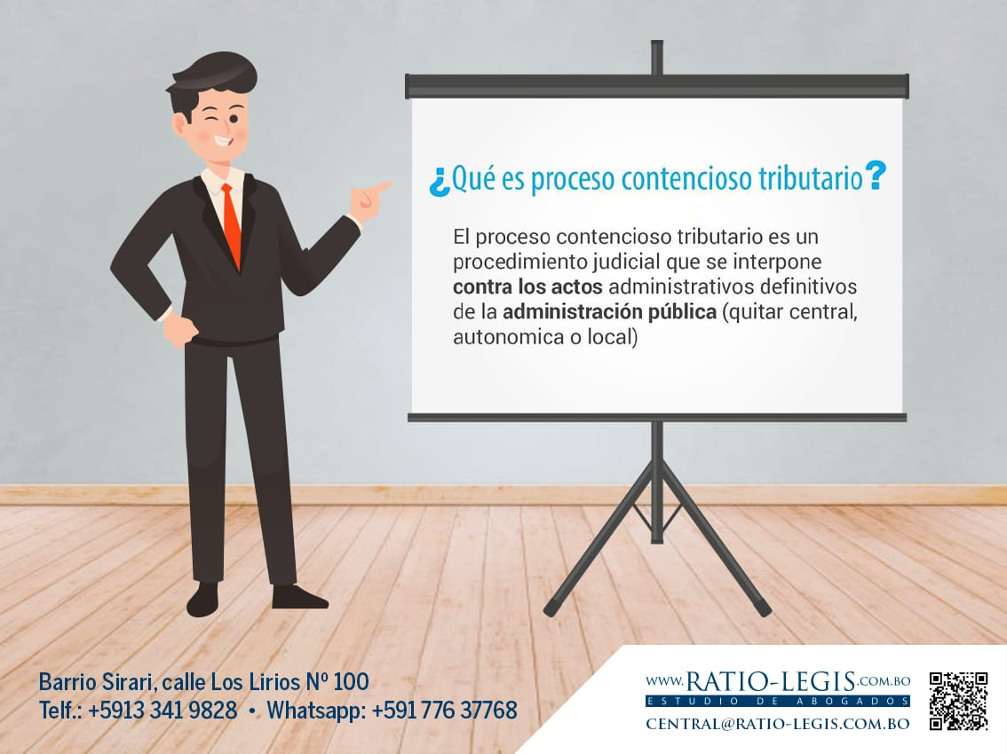 (Español) ¿Qué es proceso contencioso tributario?