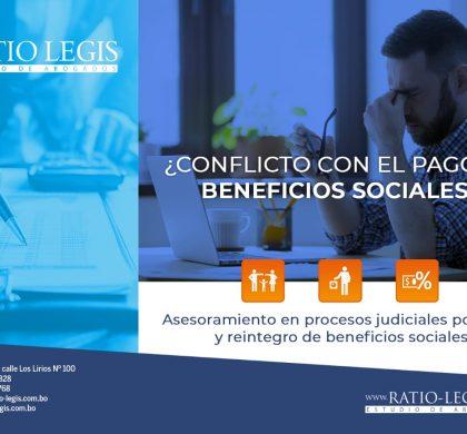 ¿Conflicto con el Pago de Beneficios Sociales?