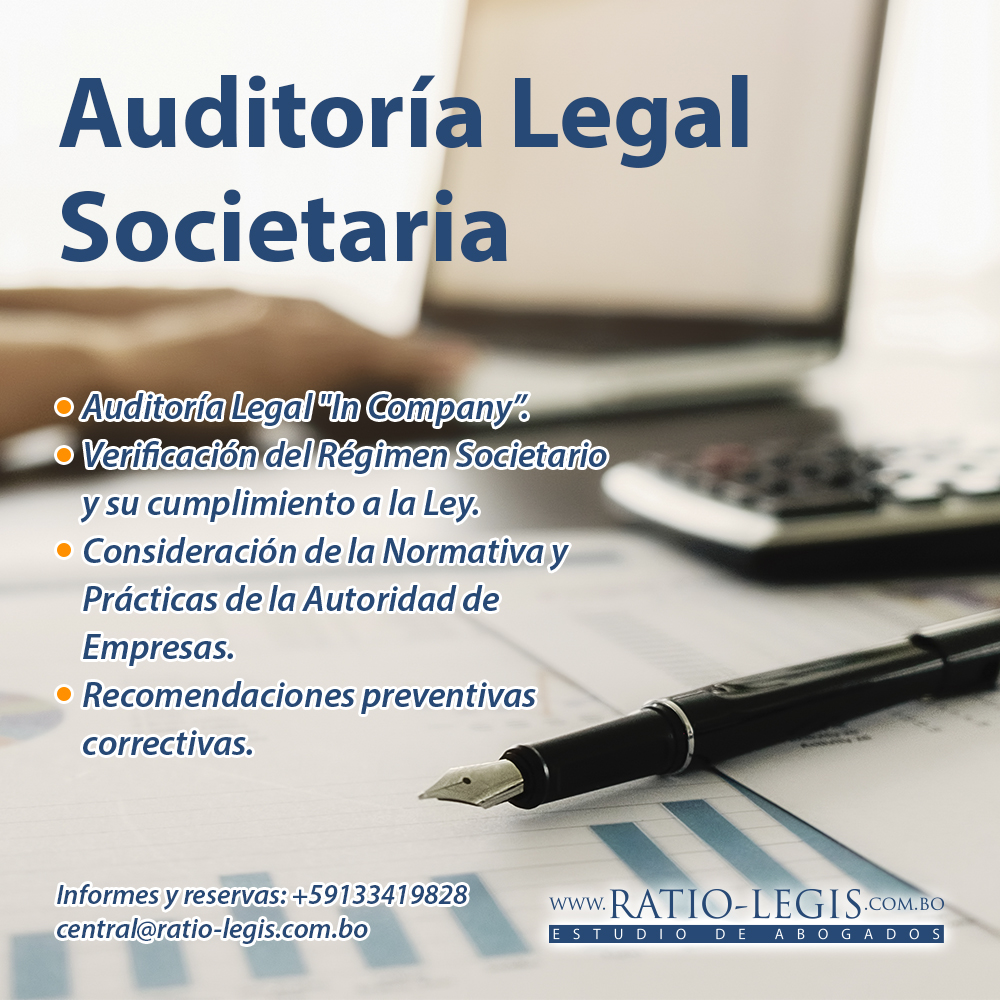 Auditoría Legal Societaria