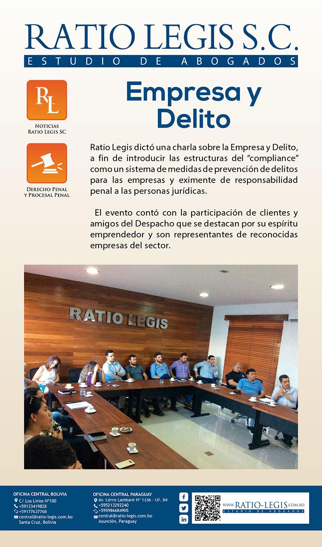 (Español) Empresa y Delito