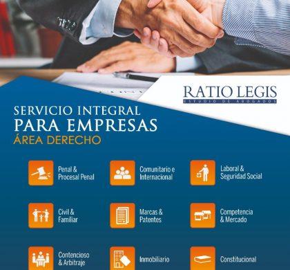 Servicio Integral para Empresas Área Derecho