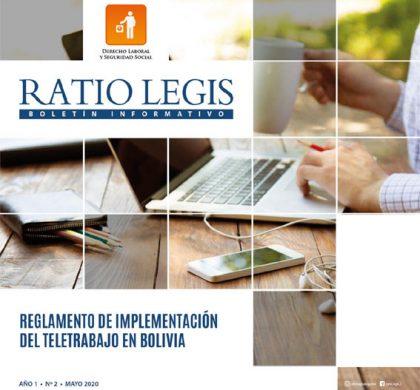Reglamento de implementación del Teletrabajo