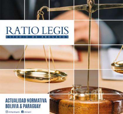 Boletín Actualidad Normativa Bolivia & Paraguay