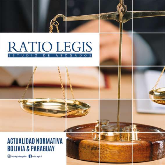 (Español) Boletín Actualidad Normativa Bolivia & Paraguay
