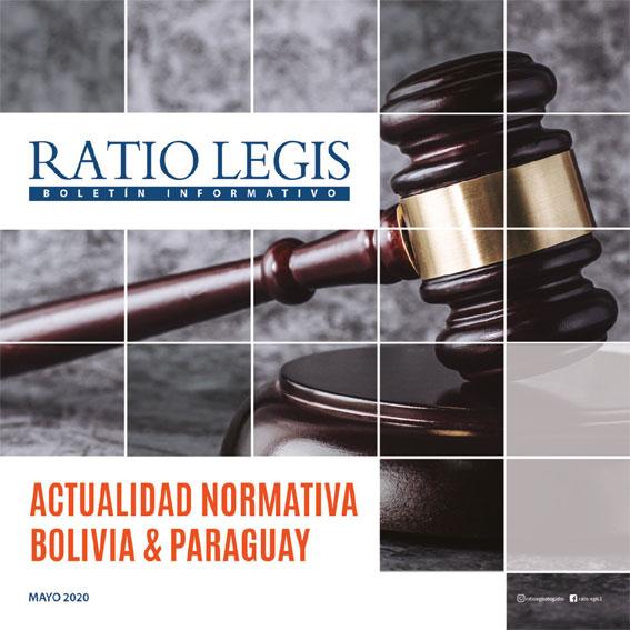Actualidad Normativa Bolivia y Paraguay Mayo – Junio 2020