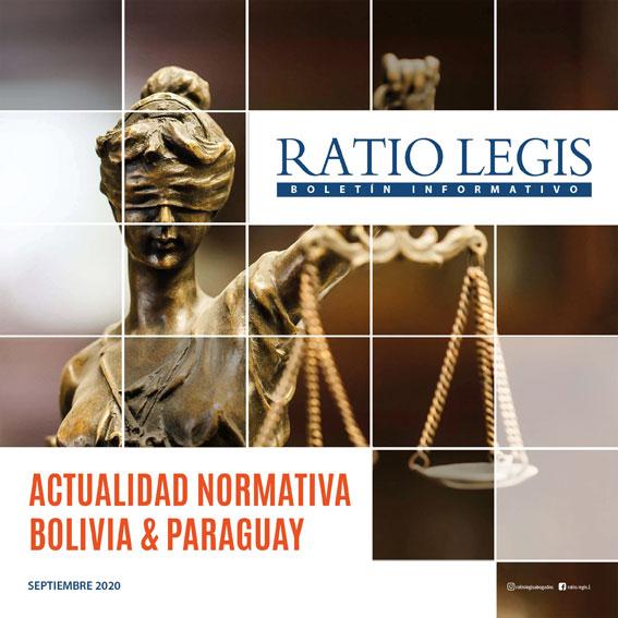 (Español) Actualidad Normativa Bolivia & Paraguay Septiembre 2020