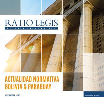 (Español) Actualidad Normativa Bolivia & Paraguay Noviembre 2020