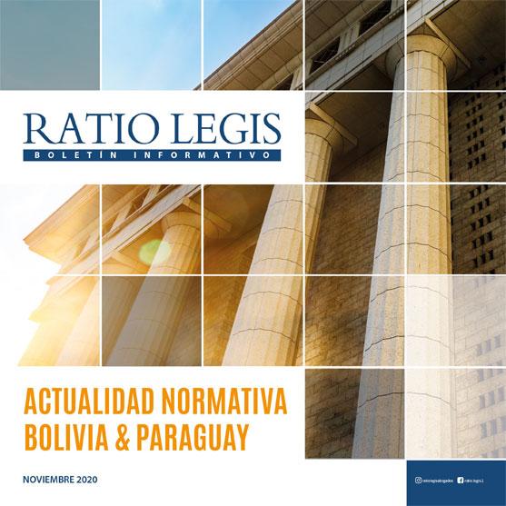 Actualidad Normativa Bolivia & Paraguay Noviembre 2020